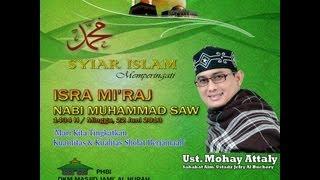 Download Video Ust. Mohay Attaly in Masjid Jami Al Hijrah Perum. Mutiara Venezia Cileungsi Part 01 MP3 3GP MP4