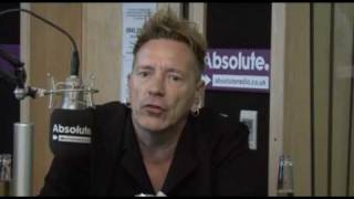 John Lydon On The England Football Team