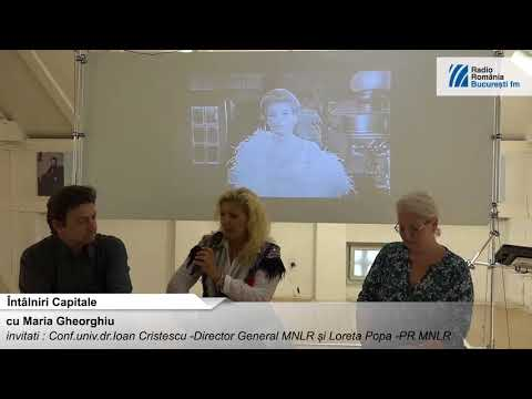 Intalniri Capitale la Muzeul Național al Literaturii Române