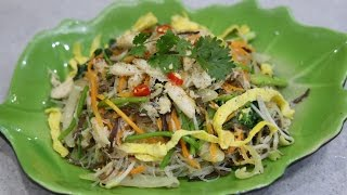 Crab Meat And Glass Noodle Stir-fry - Mien Xao Cua