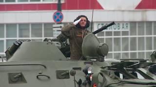 07 05 2019 Репетиция парада Победы прошла в Южно Сахалинске