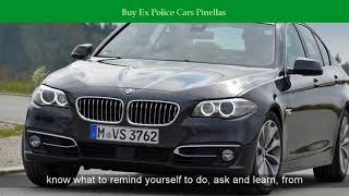 Buy Ex Police Cars Pinellas