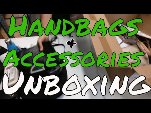Unboxing HE Branded Handbag & Accessory Lots