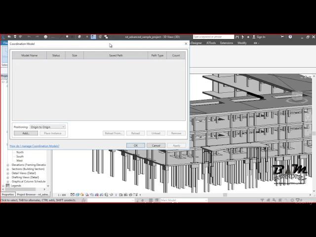 Revit Structures | 05 Descripción breve de pestañas y ventana background
