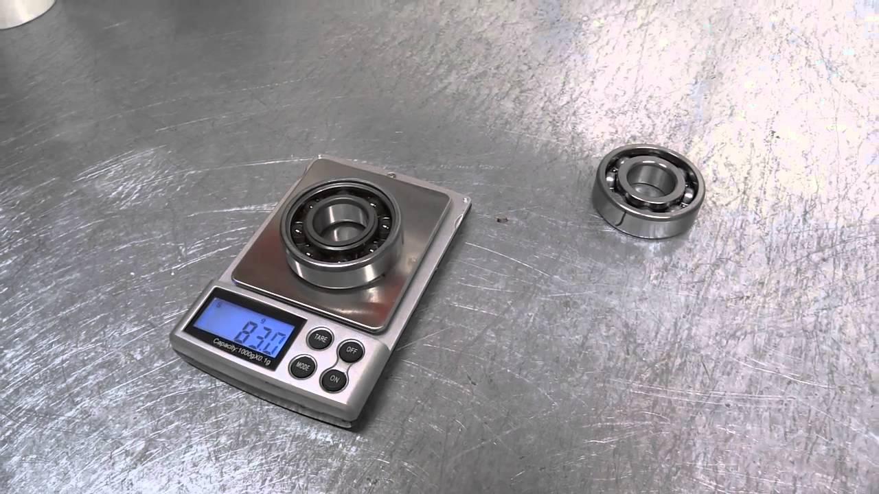 F1moto Ceramic Bearings Vs Steel Bearings Youtube