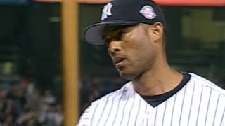 Mariano Rivera picks up his first save of 2003