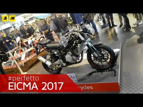 EICMA 2017 - SWM Naked 125/400, Six Days e Cross