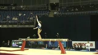 Anastasia Koval (UKR) Balance Beam QF 2009 London World Championships