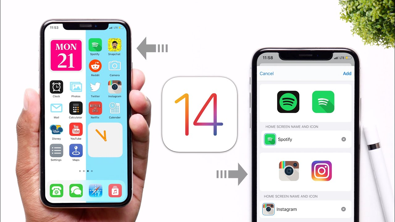 How To Change App Icons in iOS 14 & Customise Homescreen!