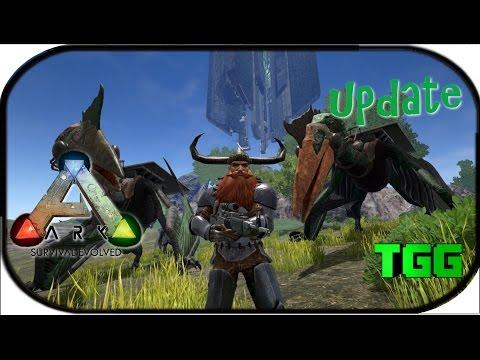 Ark: Survival Evolved | Update 218 Quetzal, Tranq Darts, & Machined Sniper (Ark Updates)