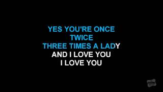 Baixar - Three Times A Lady In The Style Of Commodores Karaoke Version With Lyrics Grátis