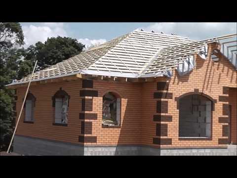 видео: строительство крыши