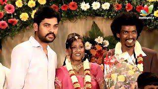 Vimal, Ramesh Khanna and Thambi Ramaiah at Actor Sentrayan and Kayal Vizhi Marriage Reception