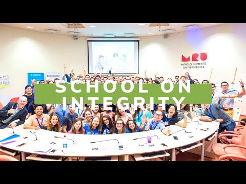 Transparency International School on Integrity 2017 (Vilnius, Lithuania)