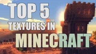Minecraft - TOP 5 BEST Texture/Resource Packs