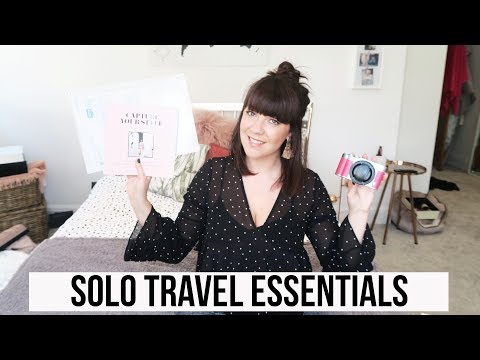 6 SOLO TRAVEL ESSENTIALS | WHAT TO PACK FOR SOLO TRAVEL?!