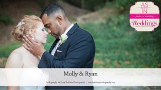 Lafayette Wedding: Molly & Ryan from Summer/Fall '17 of Real Weddings Magazine