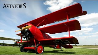 Up close with the beautiful WWI aircraft Fokker Dr.I & Sopwith 1-1/2 Strutter