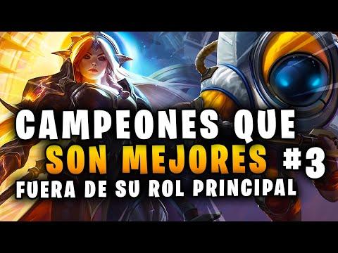CAMPEONES QUE SON MEJORES FUERA DE ¡SU ROL PRINCIPAL! #3