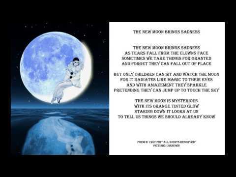 Romantic Love Poem - New Moon Of Sadness