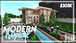 ROBLOX : Modern Tropical House : Speed Build : 305k
