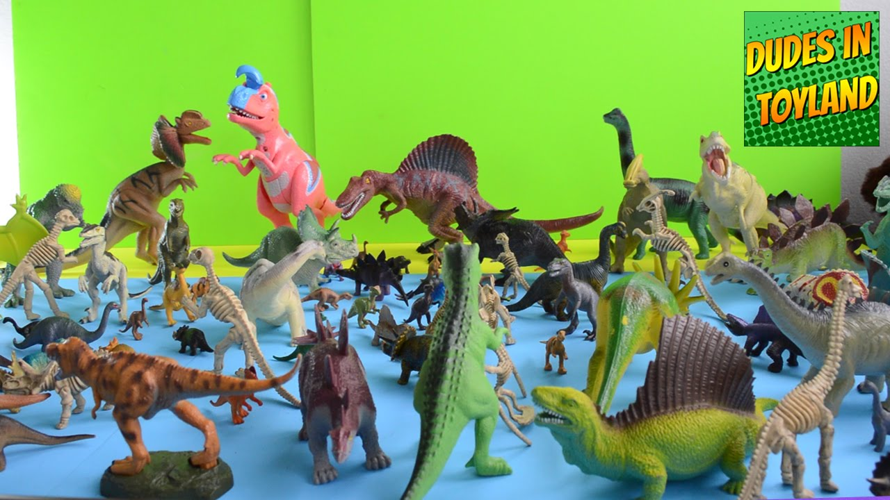 Dinosaurs Toys Collection : Dinosaur toy collection jurassic park toys