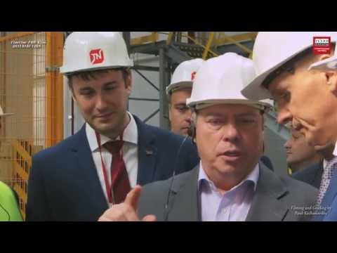Открытие завода ТЕХНО в Красном Сулине