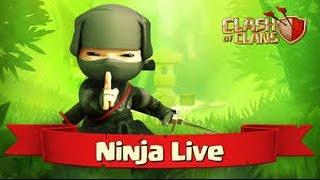 Ninja Live #1 (OneHive vs OneHive Genesis)   Clash of Clans