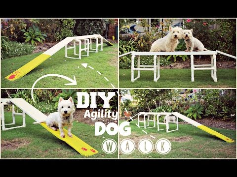 How To: DIY Agility Dog Walk | TheDogBlog