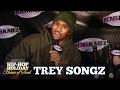 Capture de la vidéo Trey Songz Talks His Next Album, Tremaine, New Years Resolution & Recalls His Favorite Christmas Gif