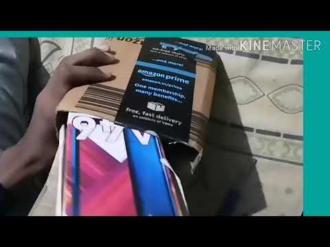 Unboxing of itel A46  dark water 2/16