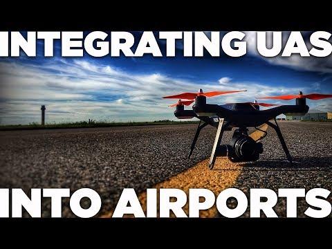 Integrating UAS Into Airports