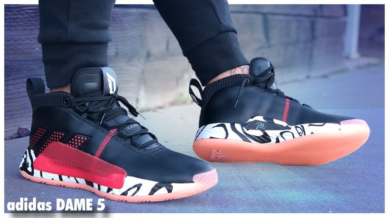 adidas Dame 5 | Detailed Look and Review WearTesters