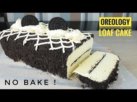 Oreology Loaf cake | How to make no bake Oreo Cake (no bake cake)