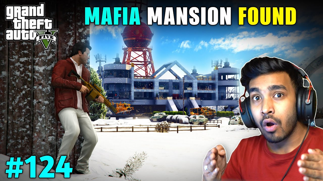 MAFIA MANSION FOUND IN NORTH YANKTON | GTA V GAMEPLAY #124