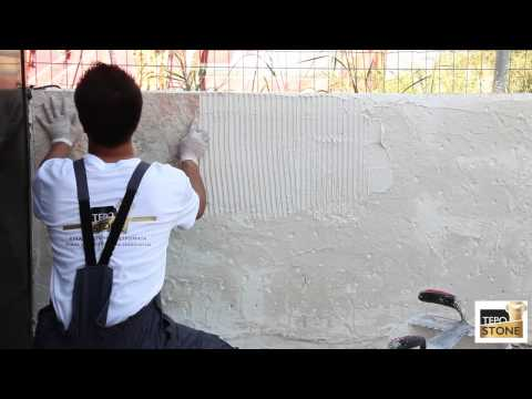 Χρησιμοπωλείο | TepoStone τεχνητή πέτρα | Οδηγός τοποθέτησης