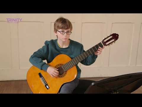 Trinity College London Grade 3 Guitar Exam