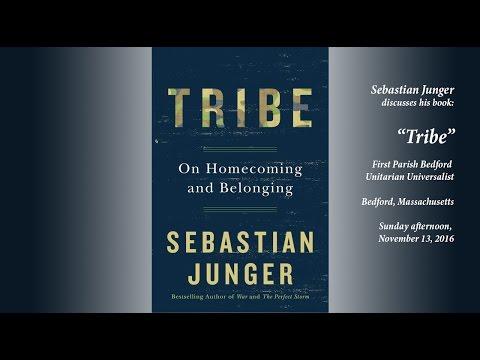 "Sebastian Junger discusses his book ""Tribe."""