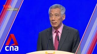 PM Lee delivers keynote address at Shangri-La Dialogue in Singapore