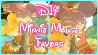 Dollar Tree Minnie Mouse Favors