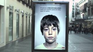 INCREDIBLE CHILD ABUSE ADVERT HIDDEN FROM ADULTS