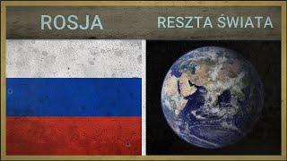 ROSJA vs RESZTA ŚWIATA - Potencjał wojskowy - 2018 (PORÓWNANIE)