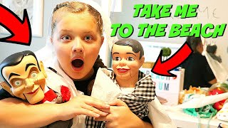 Slappy's Back with Danny! Slappy Destroyed My Room! Goosebumps In Real Life!