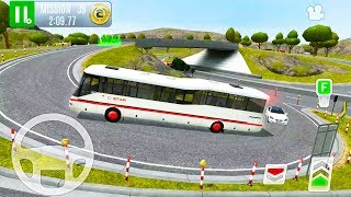 Passenger Bus Driver Simulator #2 - Highway Gas Station Service 2 - Android iOS Gameplay
