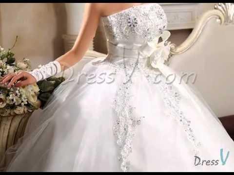 Dressv New Arrival Color Wedding Dresses Live Show