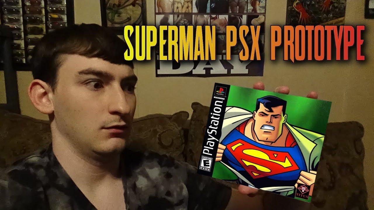 Superman PSX (Beta 1999-10-29) Quick Look (Rom Download Link)