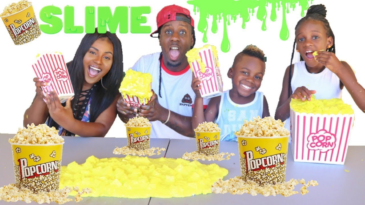 how to make popcorn slime