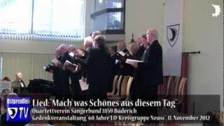 Quartettverein Sängerbund 1859 Büderich: