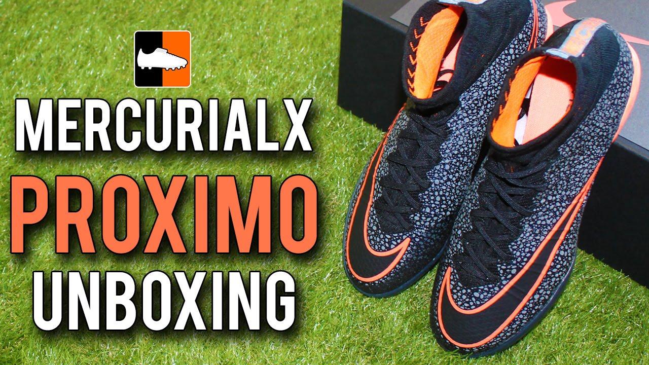 fc8f96a93eb1 Safari MercurialX Proximo Unboxing - Nike FootballX Range - YouTube