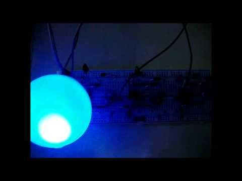 rgb led bulb circuit diagram using timer ics